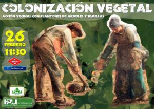 Plantones y semillas para pintar de verde el Ensanche de Vallecas