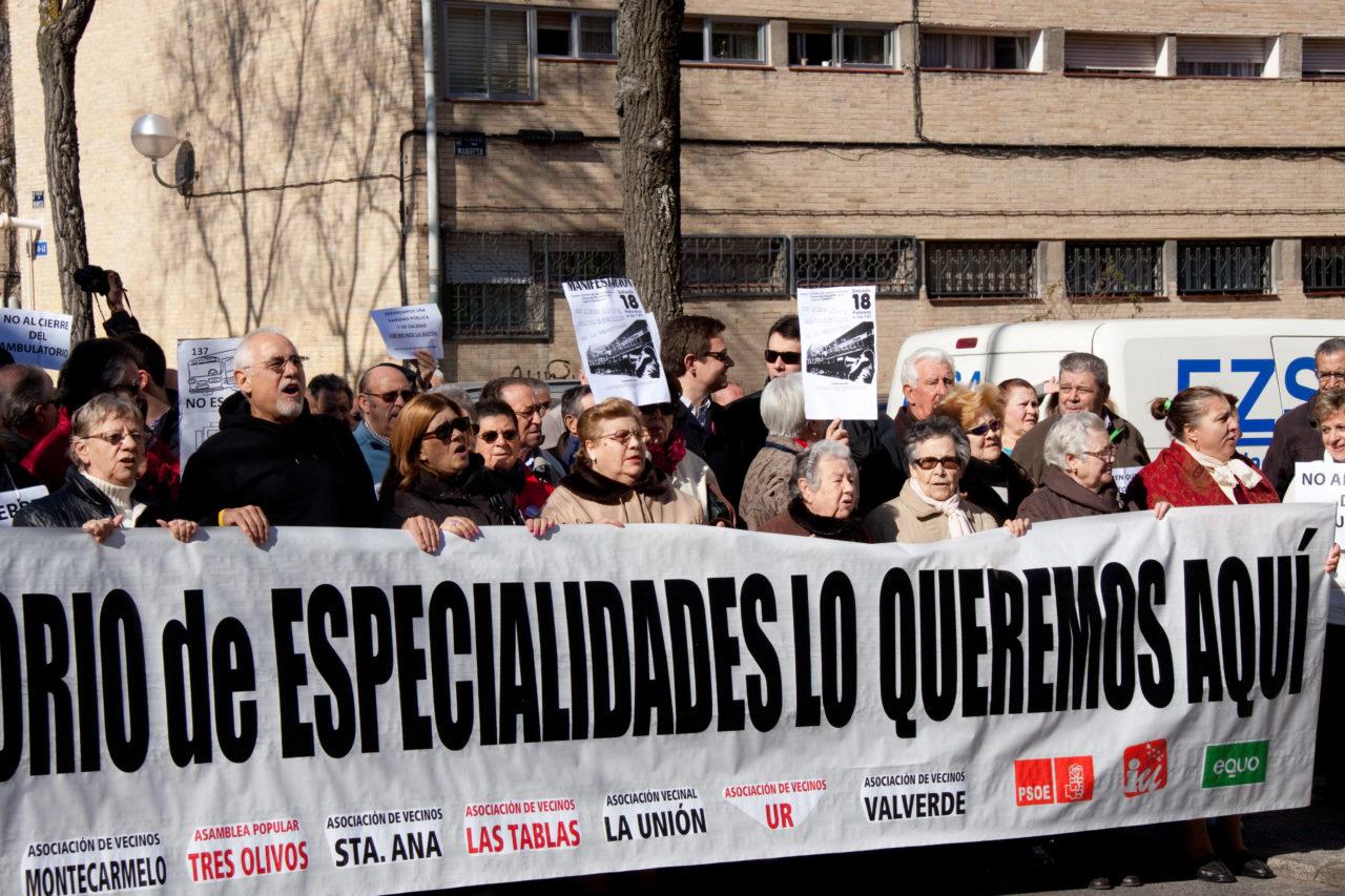 ¿Por qué Sanidad no muestra el informe técnico del centro de especialidades de Fuencarral?