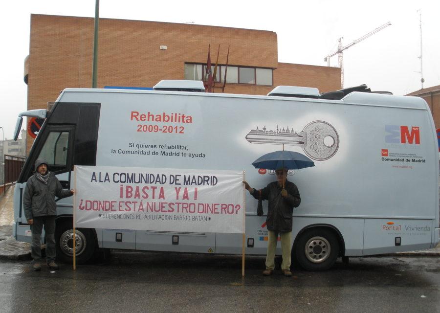 Queremos rehabilitar pero… ¡queremos cobrar!