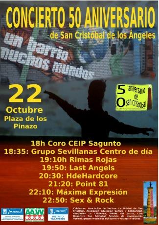 San Cristóbal de Los Ángeles celebra su 50 aniversario con un gran festival