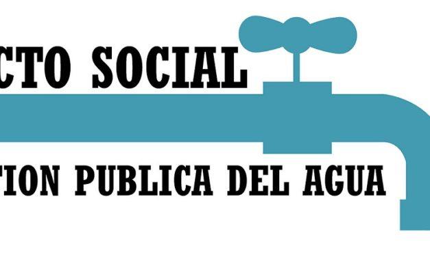 Se presenta en Madrid el Pacto Social por el Agua Pública