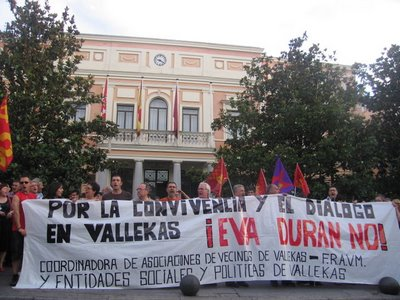 Seis miembros del movimiento vecinal vallecano serán juzgados este jueves