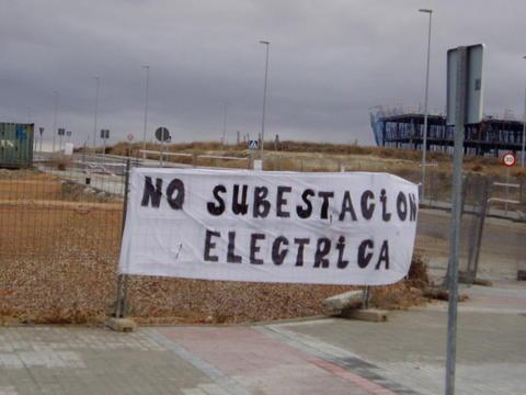 """""""Será culpa de los vecinos que Valdemoro se quede sin luz si no se construye la subestación"""""""