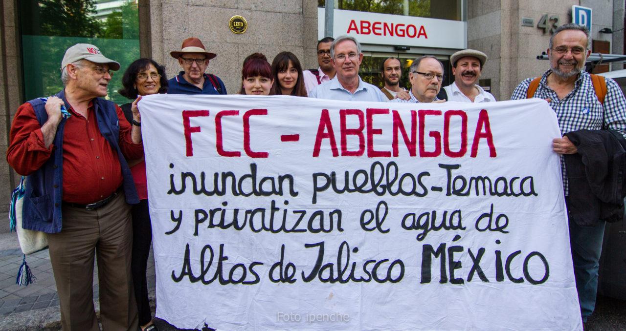 Solidaridad con México: académicos y activistas piden a Abengoa que se retire del polémico proyecto de la presa de El Zapotillo