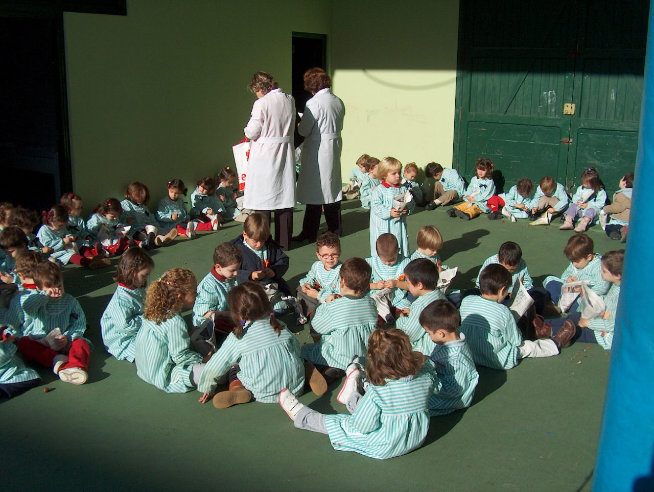 Sólo uno de cada 20 niños de 0 a 3 años tiene acceso a una escuela infantil pública en Centro