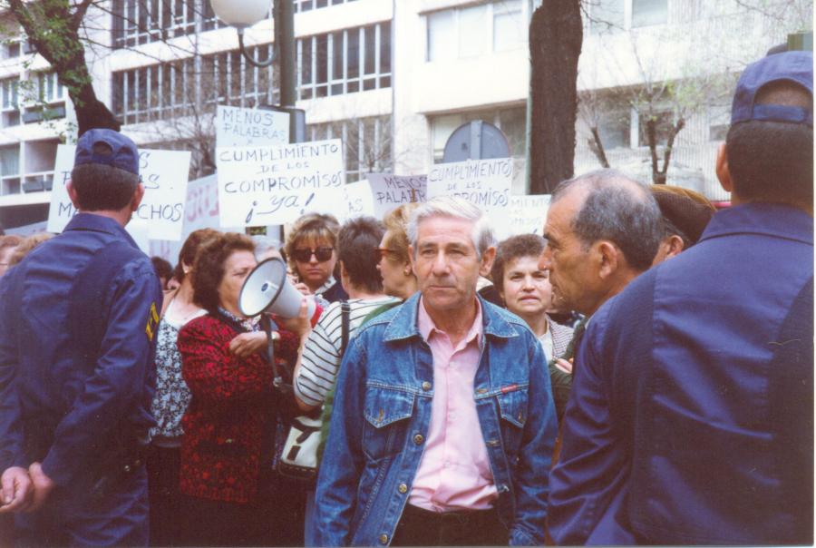 Tetuán dedica una plaza al movimiento vecinal