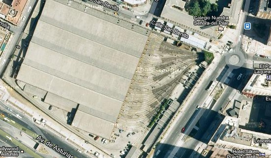 Tetuán presenta sus alegaciones al plan especial de cocheras de Plaza de Castilla