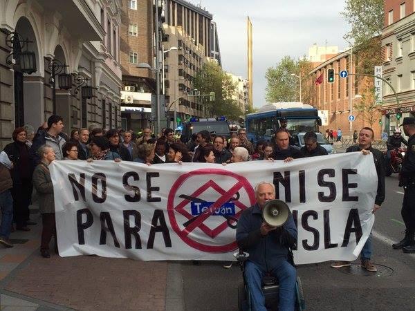 Tetuán se mueve contra el plan de Cifuentes de cierre de la Línea 1 de Metro