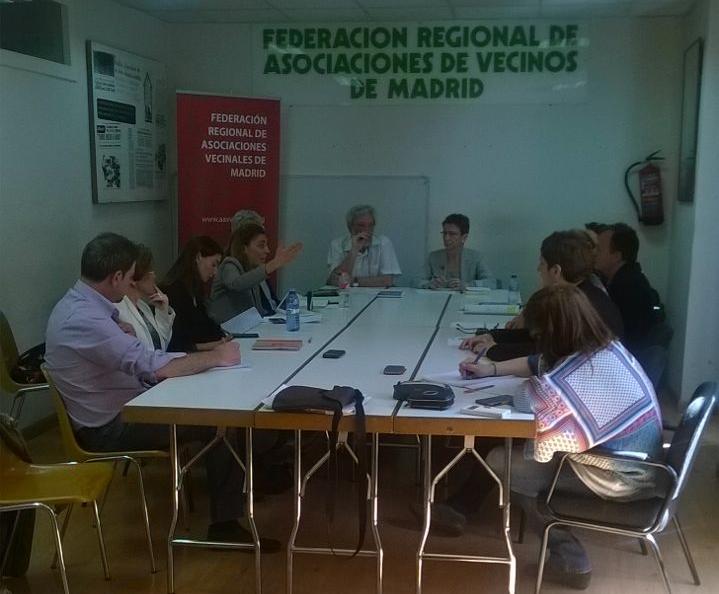 Todas las candidaturas electorales al Ayuntamiento de Madrid y a la Comunidad, menos el PP, firman un pacto contra el hambre