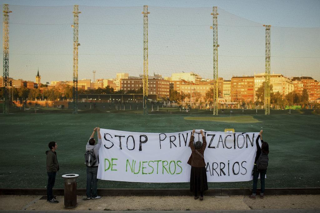 La AV El Organillo propone crear nuevos espacios deportivos en el parque del Tercer Depósito del Canal