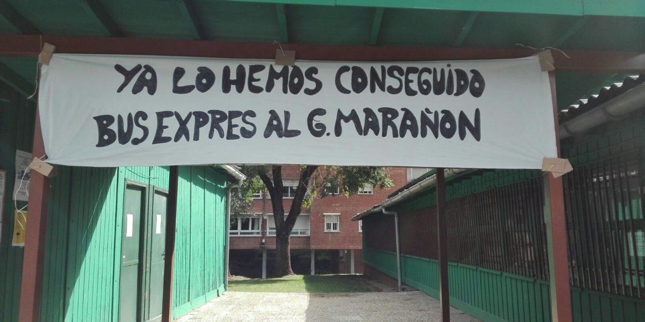 Tras ocho años de reivindicación, Moratalaz tendrá una línea de autobús exprés al hospital Gregorio Marañón