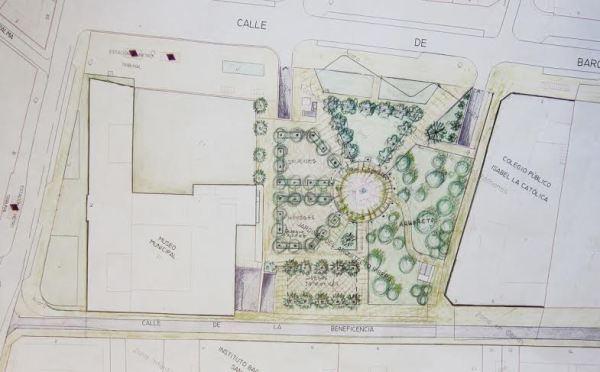 Tres proyectos para recuperar los Jardines del Arquiecto Ribera, a votación