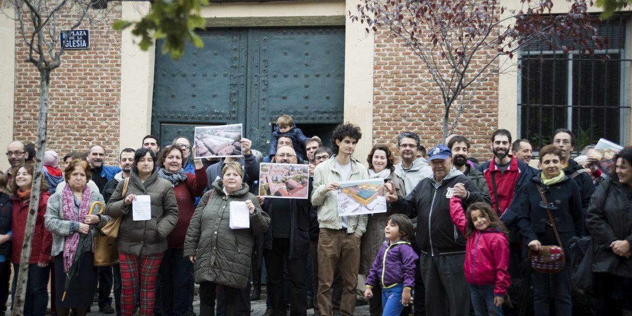 Un gimnasio impulsado por una entidad religiosa pone en riesgo el casco antiguo de Hortaleza