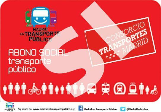Un paso de gigante para la consecución de un abono social de transportes en Madrid