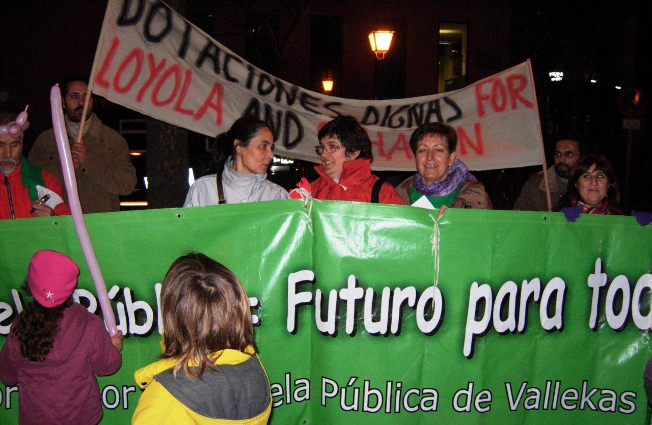 Vallecas exige medidas para mejorar la educación pública