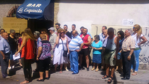 Vecinos de Cuacos de Yuste (Cáceres) se unirán a los de Vallecas para protestar contra la inmobiliaria que quiere cerrar La Esquinita