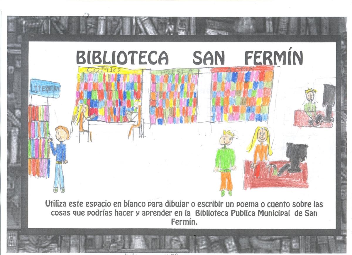 Vecinos de San Fermín entregan más de 200 dibujos infantiles a Ana Botella para exigir la biblioteca comprometida en 2008