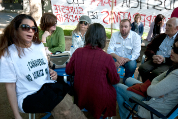 Vecinos del Sureste organizarán la asamblea de barrio del movimiento del 15-M en la Cuesta de Moyano
