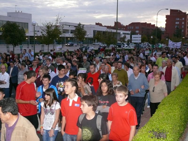 Vicálvaro sale a la calle en defensa del parque de Valdebernardo
