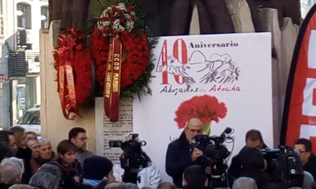 Abogados de Atocha: porque fueron somos, porque somos serán