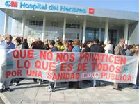 El corredor del Henares lleva su protesta a Coslada