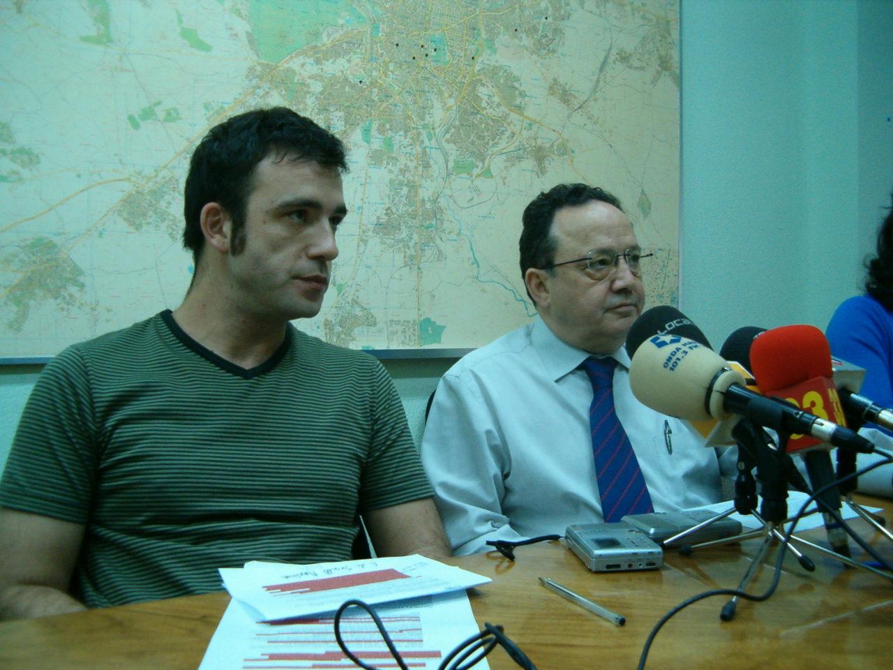 Francisco Caño presenta al nuevo presidente de la FRAVM, Nacho Murgui
