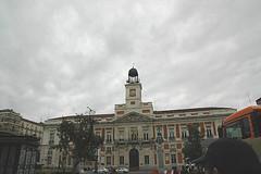 Guardia en la Puerta del Sol