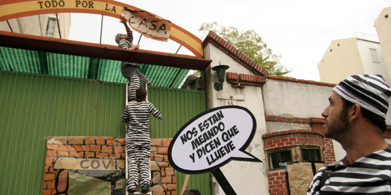 """Jóvenes de Retiro """"transforman"""" un cuartel militar en viviendas públicas"""
