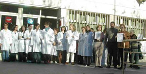 La FRAVM apoya el paro convocado en Atención Primaria