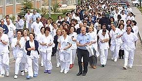 La FRAVM apoya la huelga de los trabajadores del hospital Severo Ochoa