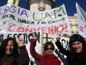 La FRAVM apoya la huelga en el sector de la intervención social