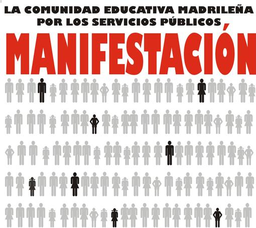 La FRAVM apoya la manifestación en defensa de los servicios públicos