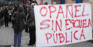 """La FRAVM apoya la movilización contra el cierre de la escuela infantil """"Valle del Oro"""""""