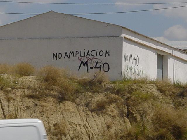 La FRAVM e IU, contra la ampliación de la M-40