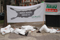 La FRAVM y Ecologistas en Acción exigen a Botella medidas para frenar la contaminación del aire