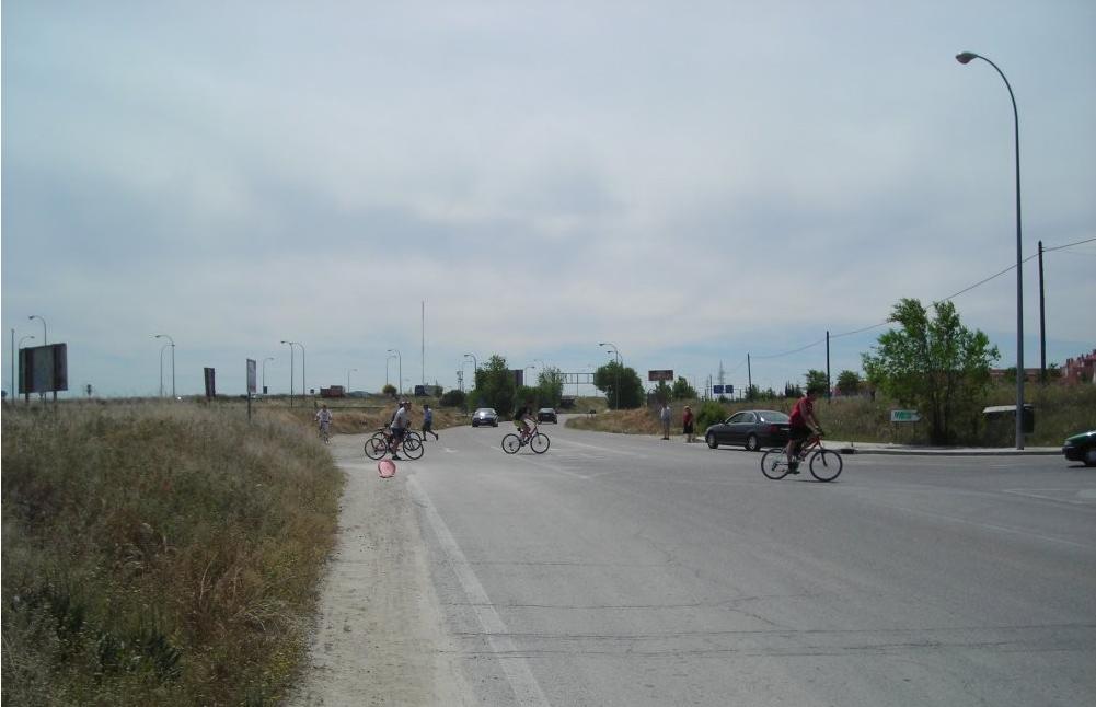 La remodelación de la avenida de Los Rosales, en marcha