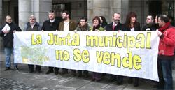 Las asociaciones vecinales de Centro reclaman que su junta siga siendo de uso público