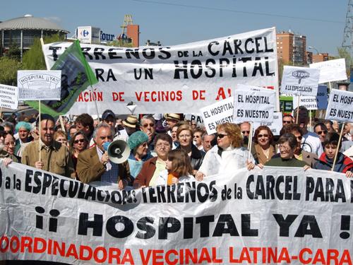 Latina saluda la promesa de construir un hospital en los terrenos de la cárcel de Carabanchel
