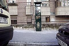Los colectivos antiparquímetros piden al Ayuntamiento de Madrid que retire el SER de los barrios periféricos