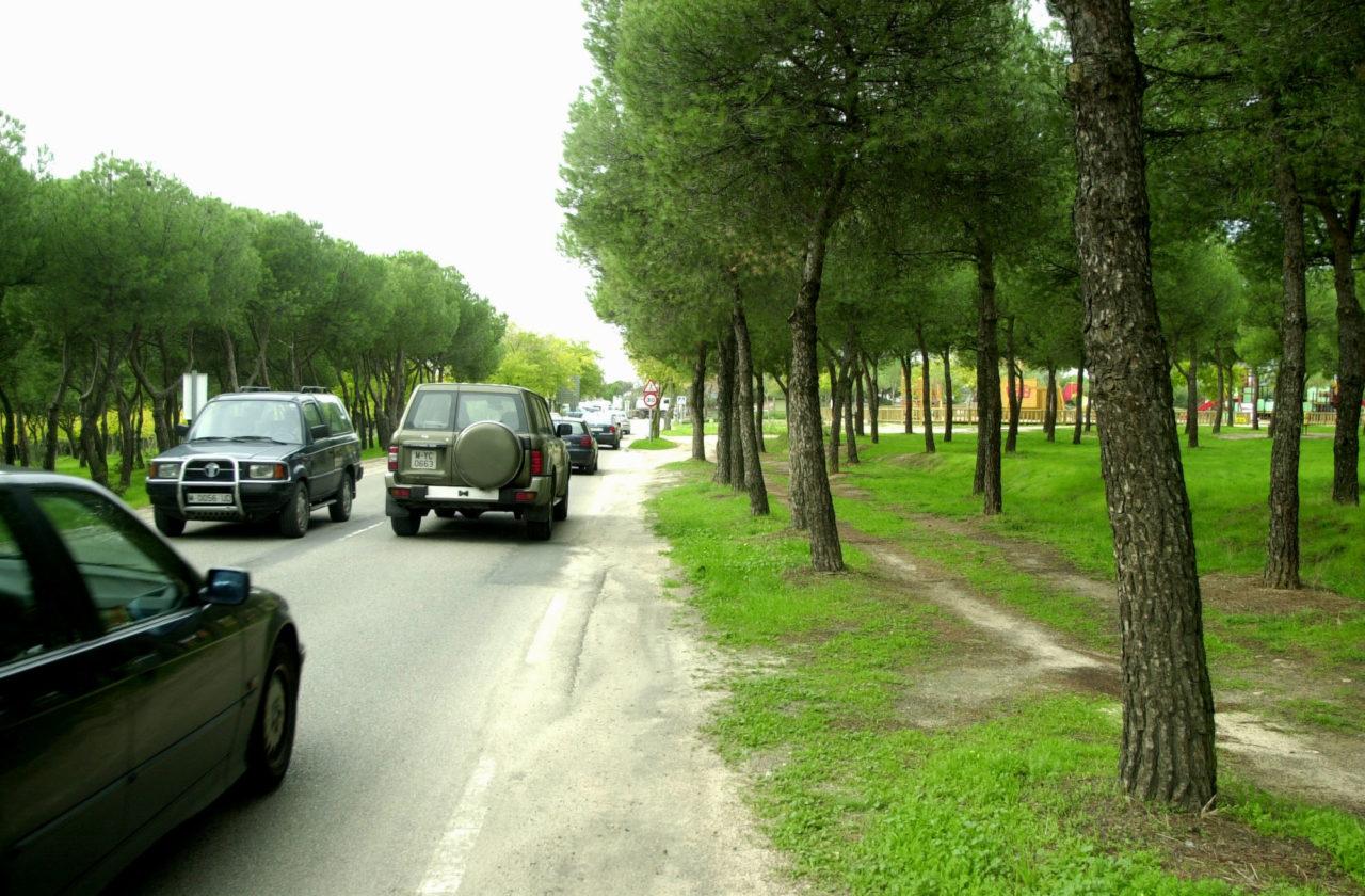 Los vecinos, a favor del cierre al tráfico de la Casa de Campo