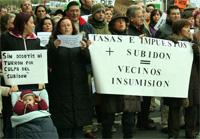 Los vecinos de Salamanca, acompañados de los de Madrid, se manifestarán ante la sede del PP contra la subida de los impuestos municipales salmantinos