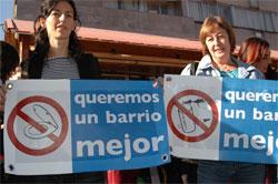"""Los vecinos del barrio de Universidad reclaman un """"centro más habitable"""""""