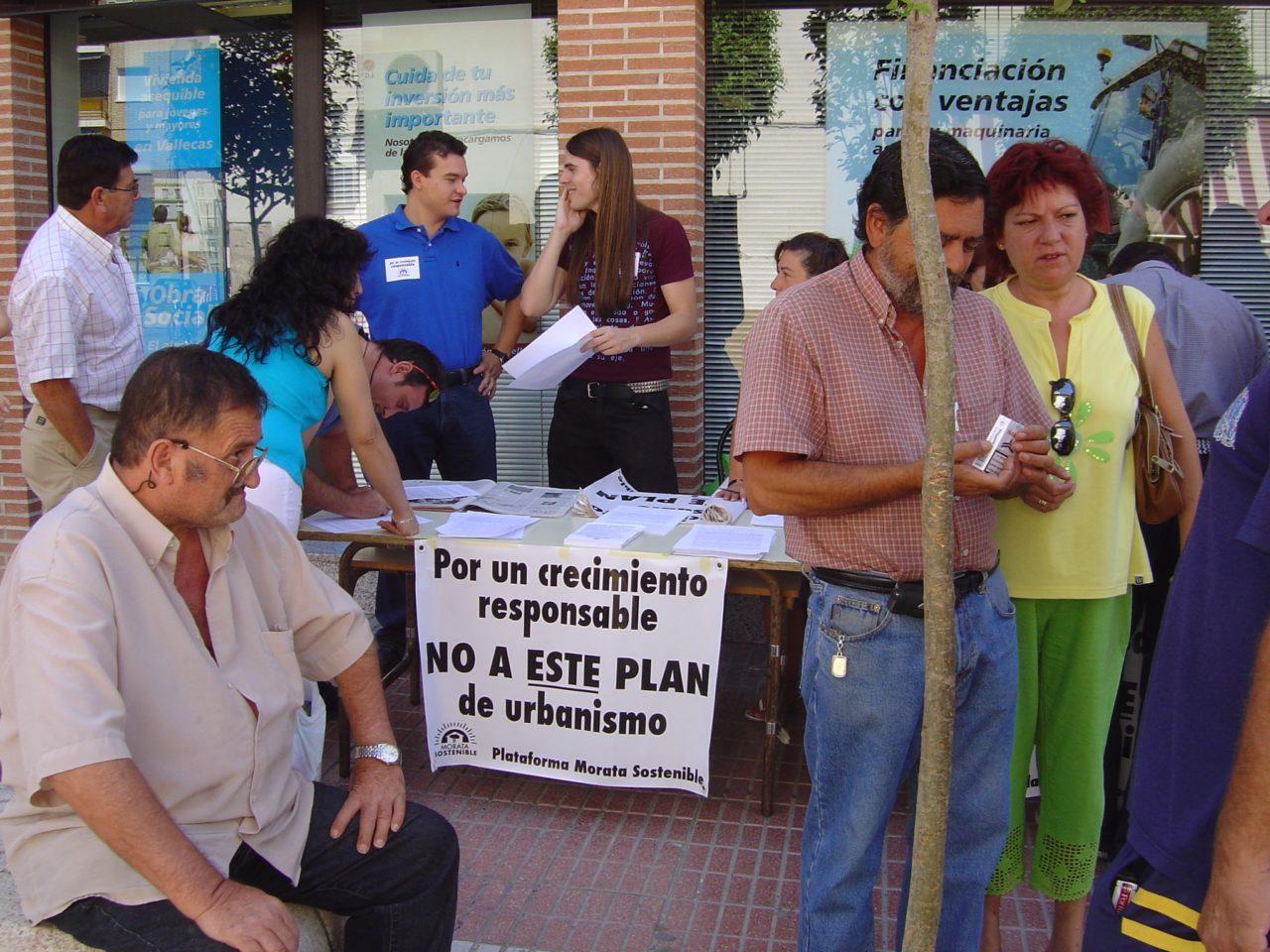 Los vecinos denuncian el convenio urbanístico del Balcón de Tajuña