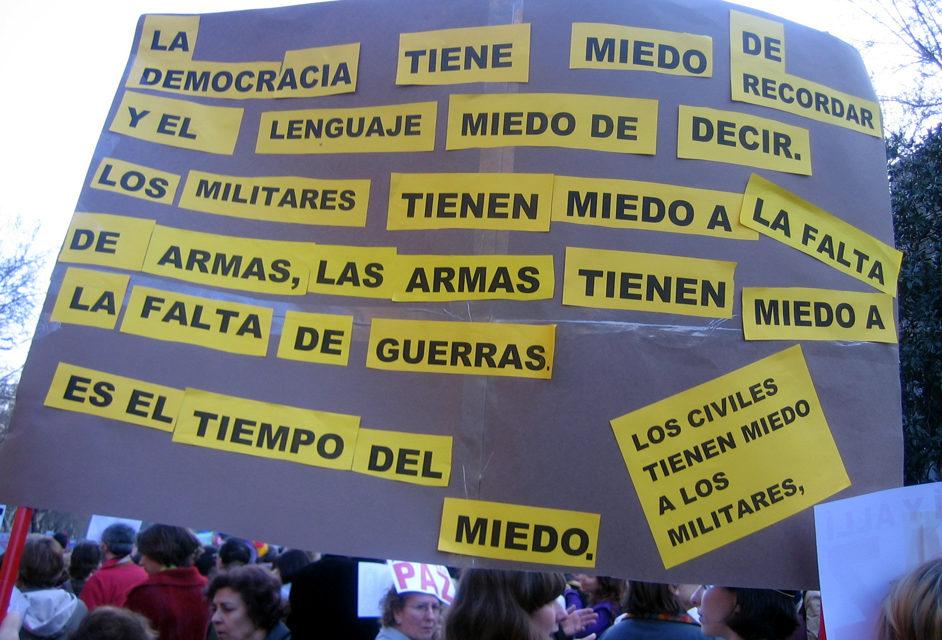 Madrid sale a la calle en contra de la guerra