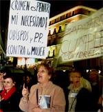 """Miles de personas se manifiestan por el """"derecho de las mujeres a decidir"""""""