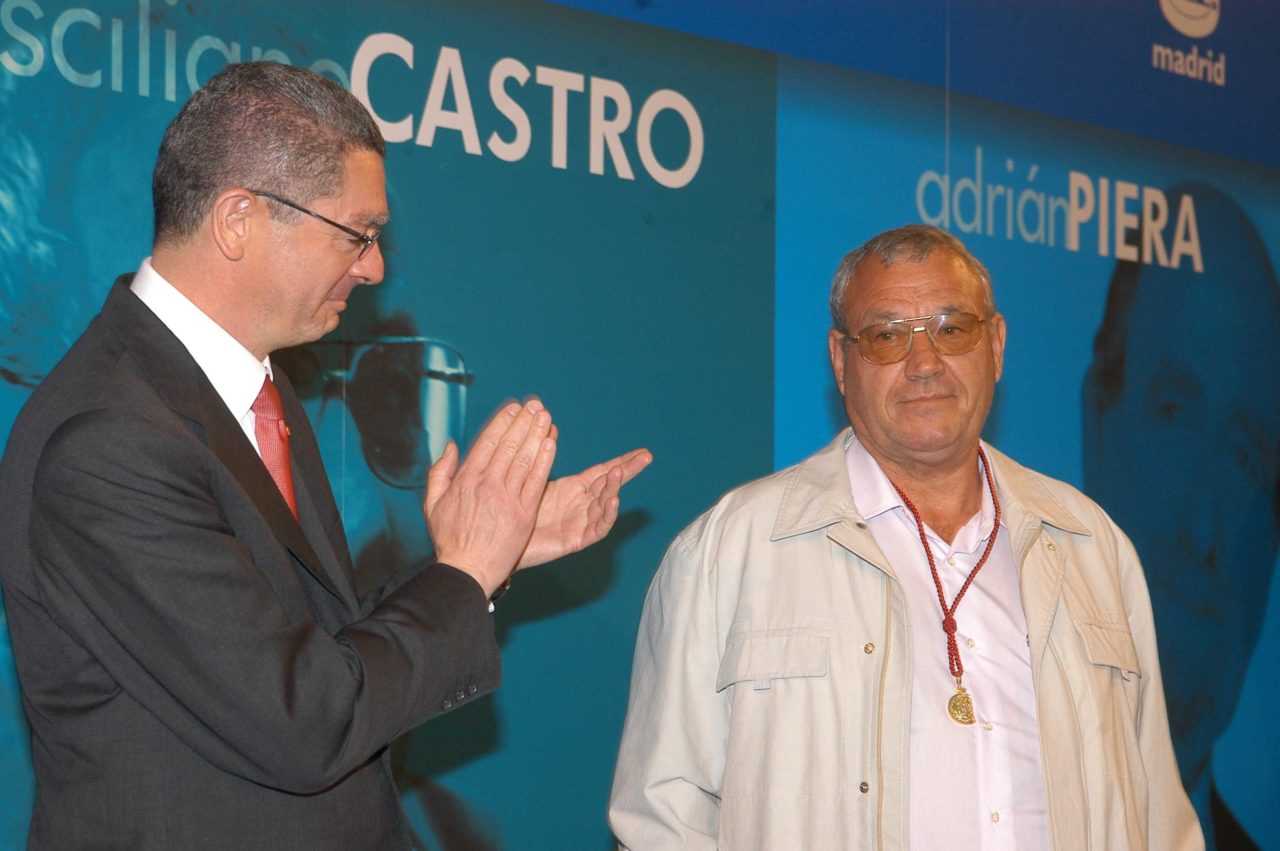 Prisciliano Castro, Medalla de Oro de Madrid