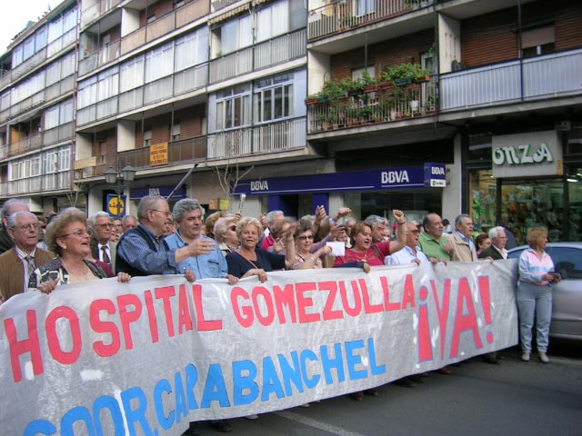 ¿Qué pasa con las otras 720 camas del Gómez Ulla?