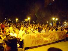 San Cristóbal sale a la calle en defensa de una convivencia pacífica