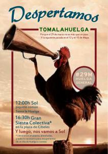 #tomalahuelga: El 29M, sin miedo
