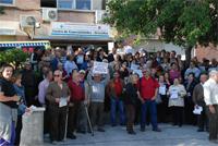 Unas 350 vecinas y vecinos de Orcasitas exigen la construcción de un nuevo centro de salud